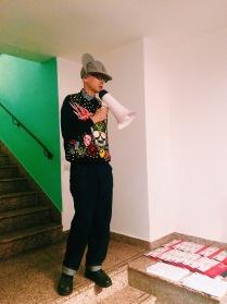 Андрей Бартенев на закрытой экскурсии в музее
