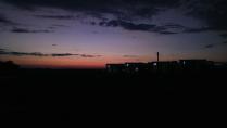 Степь и закат