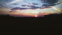 Рассвет в степи