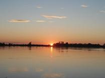 Закат над рекой Зея