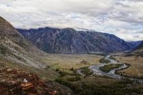 В долине реки Чулышман.