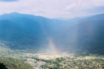 Радуга в горах