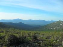 Вид с Иовского плато