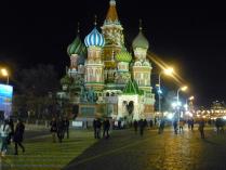 Ночной Храм Василия Блаженного