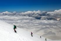 Фрирайд выше облаков