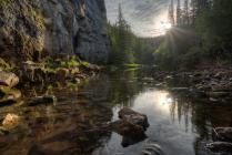 Таежная речка