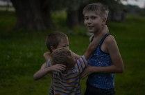 Дети в деревни