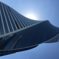 Москва-сити.Простая геометрия.