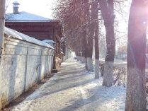Утро на одной из улиц Суздаля
