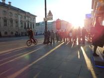 Закат в Санкт-Петербурге