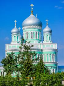 Дивеево. Свято-Троицкий Серафимо-Дивеевский женский монастырь.Троицкий собор