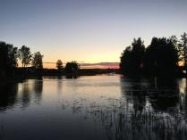 Красочный пейзаж на Вуоксе