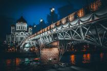 Вид на Патриарший мост