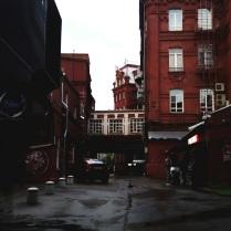 Переулки за фабрикой Красный Октябрь