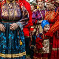 Усть-цилемские старообрядцы. Праздник на Печоре.