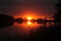 Рассвет на озере Упканкуль