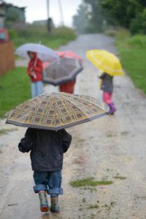 Прогулка в дождь