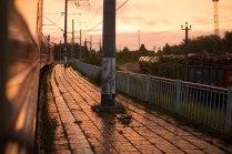 Закат на станции