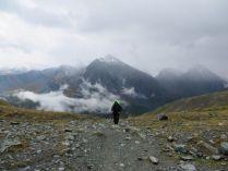 Подбираясь к перевалу Кара-Тюрек