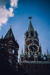 Спасская башня на Красной площади