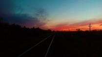 Дорога в закат.