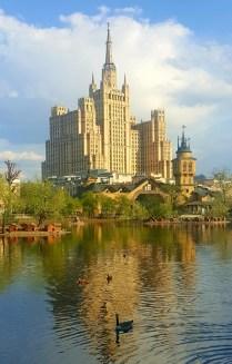 Колорит Московской архитектуры