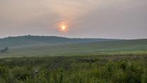 Закат в Башкортостане