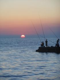 Черное море. Закат.