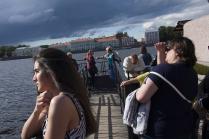 В ожидании лодки