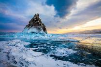 Удивительные закаты Байкала