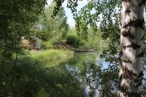 Мостик у озера