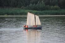 На веслах и под парусом