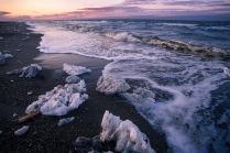 Вечер на Охотском море.
