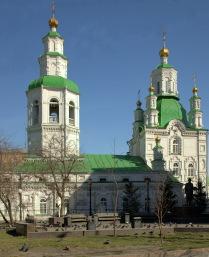 Красноярск. Преображенская церковь