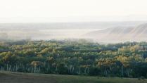 Начало осени в урочище Нагайские горы