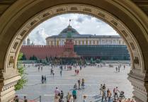 ГУМ, Кремль, Мавзолей