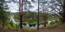 Река Держа в Тверской области