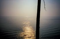 Байкал в дымке
