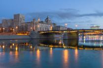 Россия. Москва. Бородинский мост.