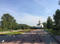 Близ гвардейского парка