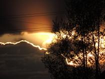 Закат в проводах