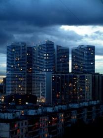 Конрасты города