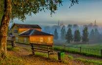 Туман над городом Тотьма
