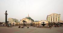 Красноярск, железнодорожный вокзал