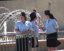Вот такие модные сотрудницы полиции...