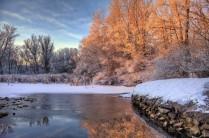 Художник-Солнце рисует зиму