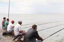Сочинские рыбаки.