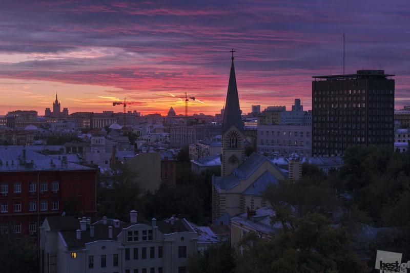 Закат старой Москвы