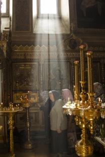 Праздничная служба в честь Успения Богородицы