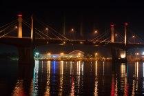 Мост через реку Волга, г. Кимры